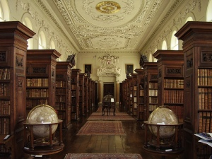 The Queen's College library, Oxford