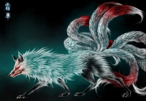 Nine_tailed_Fox_by_Vyrilien
